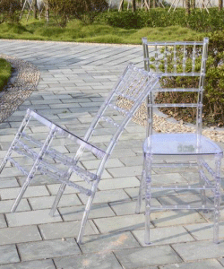 Clear Resin Tiffany Chairs Manufacturers China