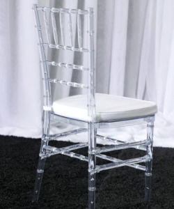 Clear Resin Tiffany Chair Manufacturers