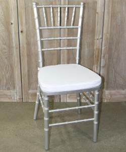 Silver Tiffany Chair